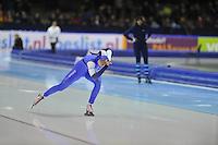 SCHAATSEN: HEERENVEEN: 26-12-2013, IJsstadion Thialf, KNSB Kwalificatie Toernooi (KKT), 1000m, Bo van der Werff, ©foto Martin de Jong