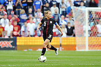 USWNT defender Christie Rampone (3) in action.