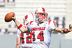 29 September 2007: Louisville's Hunter Cantwell. The University of Louisville Cardinals defeated the North Carolina State University Wolfpack 29-10 at Carter-Finley Stadium in Raleigh, North Carolina in an NCAA College Football Division I game.
