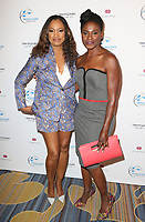 BEVERLY HILLS, CA - April 20: Garcelle Beauvais, Adina Porter, At 2017 Women's Guild Cedars-Sinai Annual Spring Luncheon At The Beverly Wilshire Four Seasons Hotel In California on April 20, 2017. Credit: FS/MediaPunch