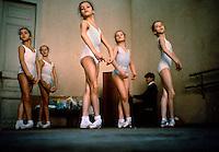 Children in Kirov ballet school, USSR