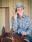 Day 3 of the 78th Amador County Fair, Plymouth, Calif.<br /> <br /> Local cattleman's competition--Young cowboys