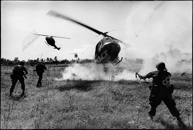 The Vietnam War, US forces in Mekong Delta, South Vietnam, December 1967