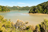 Whanganui Inlet on west coast of South Island, Nelson Region, New Zealand