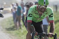 Tom Van Asbroeck (BEL/Cannondale-Drapac)<br /> <br /> 115th Paris-Roubaix 2017 (1.UWT)<br /> One Day Race: Compi&egrave;gne &rsaquo; Roubaix (257km)