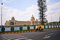 The Vidhana Soudha, home to the Karnataka Legislature in Bangalore, India