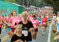 The 32 annual Women's Four Miler August 30, 2014 in Charlottesville, VA. Photo/Andrew Shurtleff