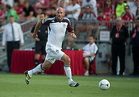 18 July 2012: Colorado Rapids forward Conor Casey #9 in action during an MLS game between the Colorado Rapids and Toronto FC at BMO Field in Toronto, Ontario..Toronto FC won 2-1..