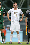12 September 2014: Pitt's Michael Tuohy (SCO). The University of North Carolina Tar Heels hosted the Pittsburgh University Panthers at Fetzer Field in Chapel Hill, NC in a 2014 NCAA Division I Men's Soccer match. North Carolina won the game 3-0.