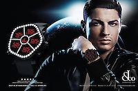 Cristiano Ronaldo, the new face of watch and jewelry maker Jacob & Co