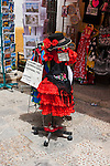 flamenco dresses on sale in sevilla, spain
