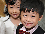 Taiwanese Wedding -- The flower girl and boy.