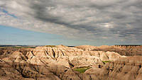 Badlands National Park near Rapid City, South Dakota.