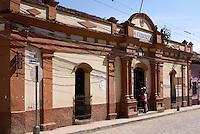 The Municipal Palace or Palacio Municipal in the Spanish colonial town of Gracias, Lempira, Honduras...