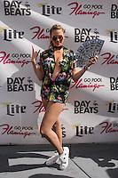 LAS VEGAS, NV - August 27, 2016: ***HOUSE COVERAGE*** Nicole Arbour hosts the Strip's Biggest Champagne Shower at GO Pool at Flamingo Las Vegas  in Las Vegas, NV on August 27, 2016. Credit: Erik Kabik Photography/ MediaPunch