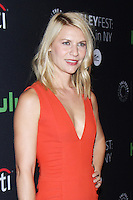 NEW YORK, NY- OCTOBER 6: Claire Danes at PaleyFest New York 2016 presents the screening of  Homeland at the Paley Center for Media in New York City on October 06, 2016. Credit: RW/MediaPunch