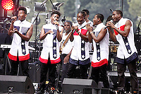 PHILADELPHIA, PA - JULY 4 :  Brotherly Love pictured performing at Wawa Welcome America concert on the Parkway in Philadelphia, Pa on July 4, 2016  photo credit Star Shooter / MediaPunch