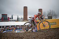 Mathieu Van der Poel (NED/Beobank-Corendon)<br /> <br /> Elite Men's Race<br /> UCI 2017 Cyclocross World Championships<br /> <br /> january 2017, Bieles/Luxemburg