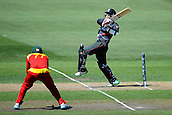 19.02.2015. Nelson, New Zealand.  Shaiman Anwar from the UAE during the 2015 ICC Cricket World Cup match between Zimbabwe and United Arab Emirates. Saxton Oval, Nelson, New Zealand. Thursday 19 February 2015.