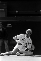 Pix:Michael Steele/SWpix...Tennis. Wimbledon, 1990...COPYRIGHT PICTURE>>SIMON WILKINSON..Boris Becker, Wimbledon.