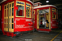 The red ladies,street car,french quarter