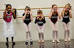 Children audition for the Sacramento Ballet's Nutcracker production on Sunday, September 10, 2006. (Photo by Max Whittaker)