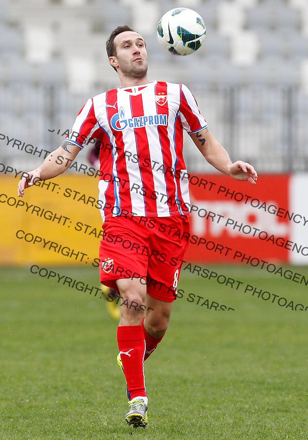 Fudbal season 2013-2014<br /> FK Crvena Zvezda pripreme Portoroz-Koper<br /> Crvena Zvezda v Triglav<br /> Dragan Mrdja<br /> Koper, 01.27.2014.<br /> foto: Srdjan Stevanovic/Starsportphoto &copy;