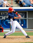 14 March 2008: Washington Nationals' infielder Aaron Boone in action during a Spring Training game against the Cleveland Indians at Space Coast Stadium, in Viera, Florida. The Nationals defeated the visiting Indians 8-4 as both teams fielded split squads home and away...Mandatory Photo Credit: Ed Wolfstein Photo