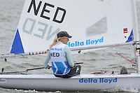 ZEILEN: MEDEMBLIK: 24-05-2014, Delta Lloyd Regatta, Marit Bouwmeester, ©foto Martin de Jong