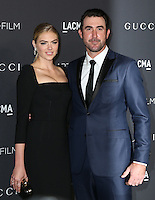 LOS ANGELES, CA - OCTOBER 29: Kate Upton, Justin Verlander attends the 2016 LACMA Art + Film Gala honoring Robert Irwin and Kathryn Bigelow presented by Gucci at LACMA on October 29, 2016 in Los Angeles, California. (Credit: Parisa Afsahi/MediaPunch).