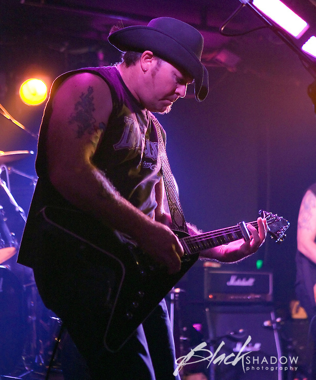 Rose Tattoo performing at the Ian Rilen benefit show, Prince of Wales, Melbourne, 6 October 2006