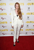 WESTWOOD, CA - April 13: Larsen Thompson, At Premiere Of Swen Group's &quot;The Outcasts&quot; At The Landmark Regent  In California on April 13, 2017. <br /> CAP/MPIFS<br /> &copy;MPIFS/Capital Pictures