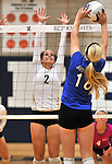 2014-2015 ICCP Volleyball Vs Riverside Brookfield