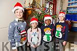 At the Moyderwell Primary School  Christmas Concert on Monday were Adrian Paluszczak, Maja Cieslak, Noel Roberts and Amanda Ardleanova