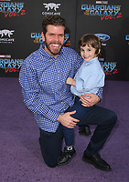 """HOLLYWOOD, CA - April 19: Perez Hilton, Mario Armando Lavandeira III, At Premiere Of Disney And Marvel's """"Guardians Of The Galaxy Vol. 2"""" At The Dolby Theatre  In California on April 19, 2017. Credit: FS/MediaPunch"""