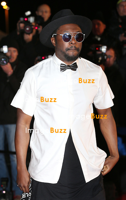 Will. i. am attends the 15th NRJ Music Awards at Palais des Festivals on December 14, 2013 in Cannes, France.