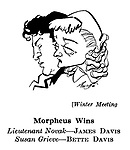 Winter Meeting ; James Davis and Bette Davis..........