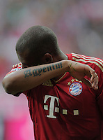 Fussball Bundesliga 2011/12: FC Bayern Muenchen - Borussia Moenchengladbach
