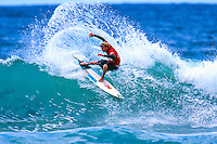 Taj Burrow (AUS) taking out his first ASP WCT win at the 1999 Coke Surf Classic Manly, Sydney, Australia.<br /> <br /> Taj Burrow (AUS) was born on the 2nd June 1978, in Busselton, Western Australia. He caught his first waves when he was only seven and, ten years later, he earned a place in the ASP World Tour.<br /> <br /> However, Burrow declined the spot because he considered he was &quot;too young to do the tour full-on.&quot; One year later, the young gun claimed the &quot;Rookie of the Year&quot; award. Taj's first big win was at the 1999 Coke Surf Classic Manly, but he would conquer a total of 12 Dream Tour event trophies throughout his career.. Photo: joliphotos.com