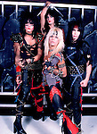 Motley Crue 1983 Nikki Sixx, Tommy Lee, Vince Neil and Mick Mars