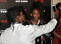 NEW YORK, NY-August 11:  Justice Smith, Jaden Smith at NETFLIX presents the New York premiere of The Get Down at Lehman Center for the Performing Arts in Bronx .NY. August 11, 2016. Credit:RW/MediaPunch