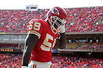 31 October 2004: Shawn Barber. The Kansas City Chiefs defeated the Indianapolis Colts 45-35 at Arrowhead Stadium in Kansas City, MO in a regular season National Football League game..