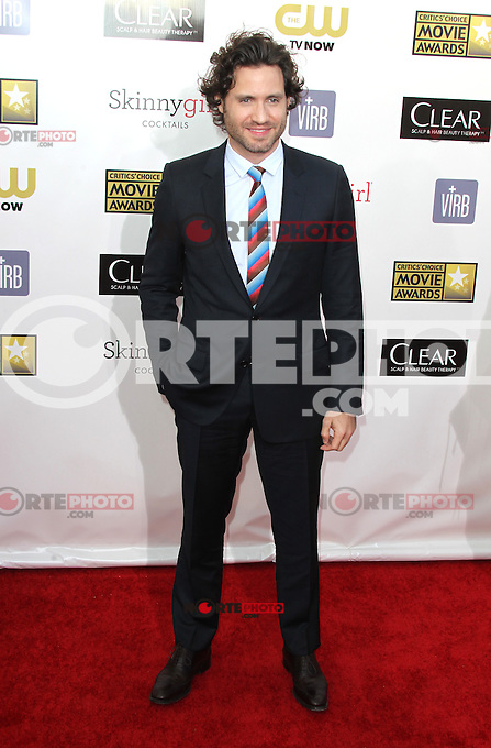 SANTA MONICA, CA - JANUARY 10: Edgar Ramirez at the 18th Annual Critics' Choice Movie Awards at Barker Hangar on January 10, 2013 in Santa Monica, California. Credit: mpi26/MediaPunch Inc.