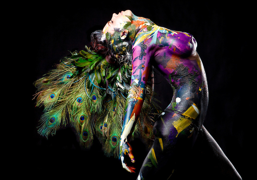 body paint feather and vcrs Her research focuses on the anthropology of the body, religion and ritual, health   body paint, feathers, and vcrs: aesthetics and authenticity in amazonian.