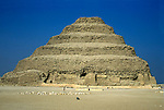 Africa, Egypt, Sakkara. Step Pyramid of Sakkara.