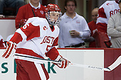Matt Grzelcyk (BU - 5) - The visiting Northeastern University Huskies defeated the Boston University Terriers 6-5 on Friday, January 18, 2013, at Agganis Arena in Boston, Massachusetts.