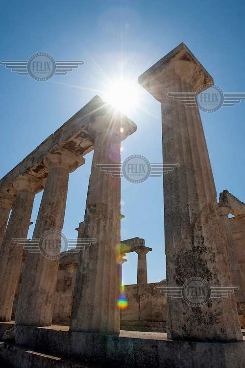 The Temple of Aphaia (Aphaea, Afea) (500 BCE).