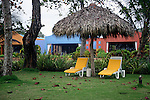 Central America, Costa Rica, Playa Esterillos Este. Alma Del Pacifico Hotel.