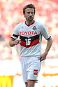 Joshua Kennedy, (Grampus), APRIL 24th, 2011 - Football : J.LEAGUE Division 1, 7th Sec match between Urawa Reds 3-0 Nagoya Grampus at Saitama Stadium 2002, Saitama, Japan. The J.League resumed on Saturday 23rd April after a six week enforced break following the March 11th Tohoku Earthquake and Tsunami. All games kicked off in the daytime in order to save electricity and title favourites Kashima Antlers are still unable to use their home stadium which was damaged by the quake. Velgata Sendai, from Miyagi, which was hard hit by the tsunami came from behind for an emotional 2-1 victory away to Kawasaki. (Photo by Akihiro Sugimoto/AFLO SPORT) [1080]