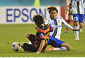 Kim Jin-Ryong (Steelers), Shu Kurata (Gamba),.MAY 2, 2012 - Football / Soccer :.AFC Champions League Group E match between Pohang Steelers 2-0 Gamba Osaka at Pohang Steel Yard in Pohang, South Korea. (Photo by Takamoto Tokuhara/AFLO)